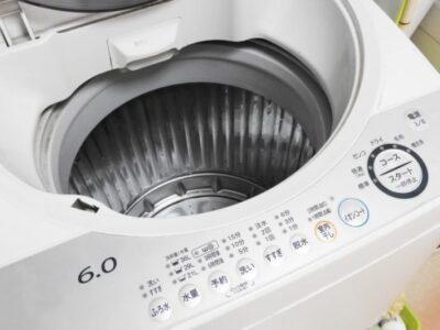 洗濯機の脱水が弱い!壊れてたら自分で修理してもいいの?
