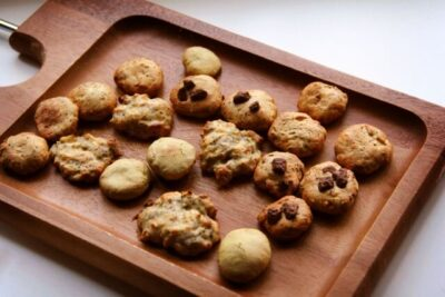 焼きあがったクッキーの乾燥させ方